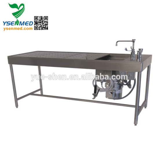 China Yssj-01 Mortuary Equipment Funeral Stainless Steel