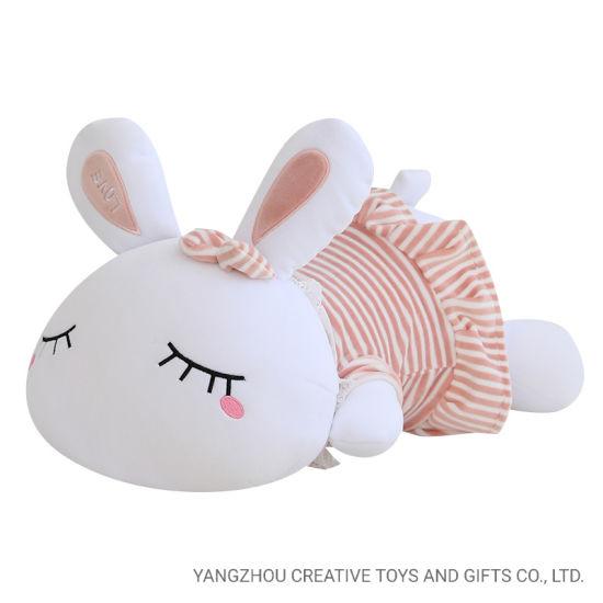Eco Wholesale Rabbit Toy for Baby Soft Doll Cute Bunny Handmade Big Stuffed Plush Rabbits