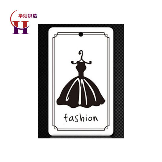 New Design Factory Price Customized Paper Clothing Hang Tag