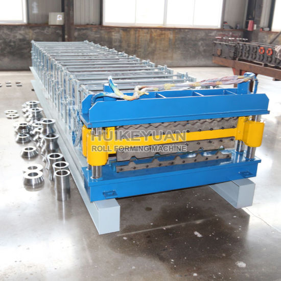 Double Layer Cold Pressure Tile Machine for Corrugated Panels