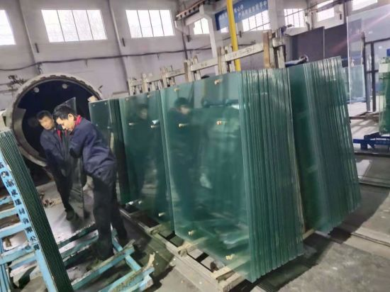 6.38mm/8.38mm/10.38mm/12.38mm Safety Tempered Laminated Glass