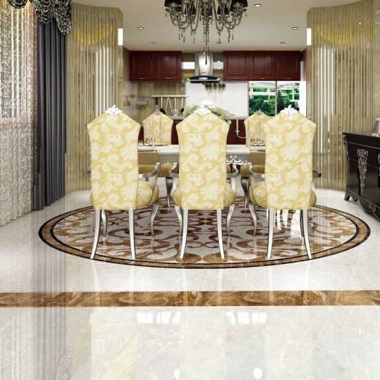 China Foshan Factory Marble Copy Polished Porcelain Floor Tiles