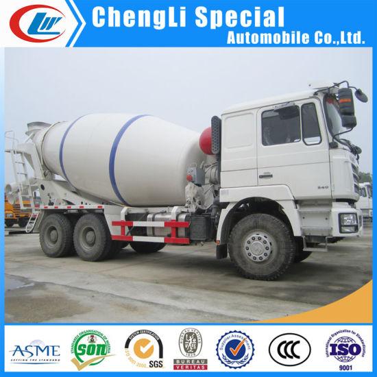 Shacman Auto Mixture Pump 12 M3 Concrete Cement Mixer Truck