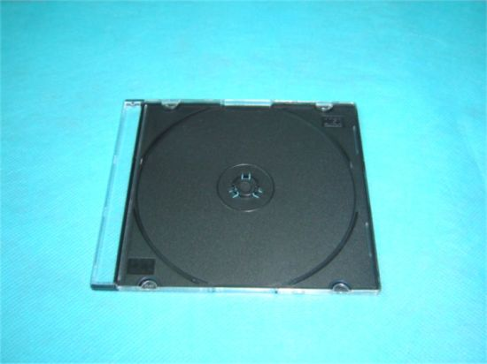 Square CD Box CD Cases Jewel CD Cover Jewel 5.2mm with Black Tray Good Quality Cheaper Price