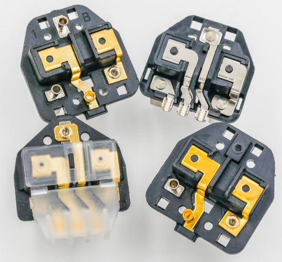 Italy 3 Pins Electrical Plug Insert/Imq AC Power Plug Insert Screw 16A pictures & photos