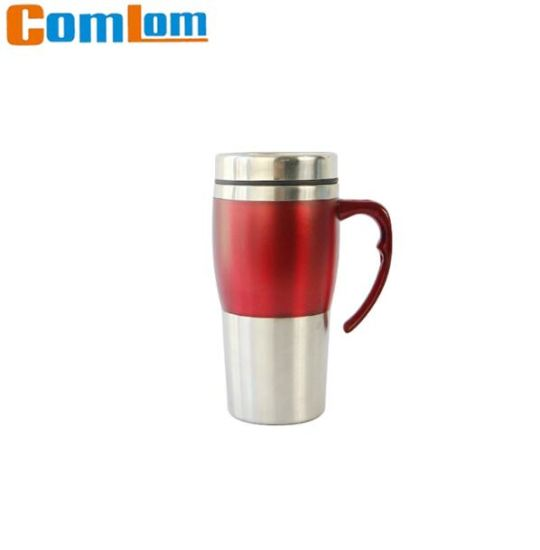 96be5a96028 CL1C-E131 Comlom Promotional Stainless steel Travel Coffee Auto Mug  pictures & photos