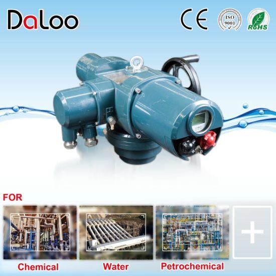 IP68 AC24V 110V 220V 380V DC24V Multi or Part Turn Intelligent Switch-Type Regulating Valve Electric Actuator for Gas Oil Water and Acid
