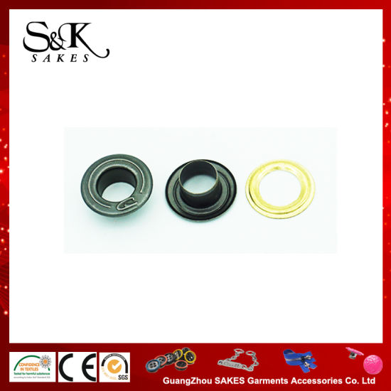 Customized Logo Metal Eyelet with Different Colors