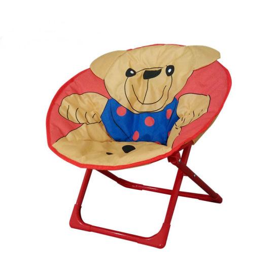Excellent China Comfortable Kids Folding Moon Chair For Indoor And Beatyapartments Chair Design Images Beatyapartmentscom