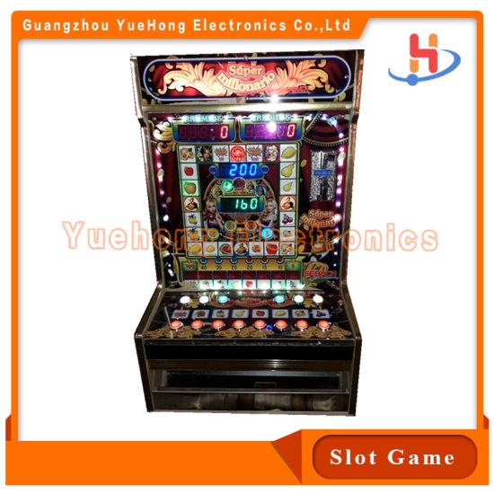 2021 Customer Tailor Africa Popular Casino Slot Machine with Acrylic View