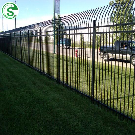 Assembled Iron Steel Factory Guard Tubular Fence