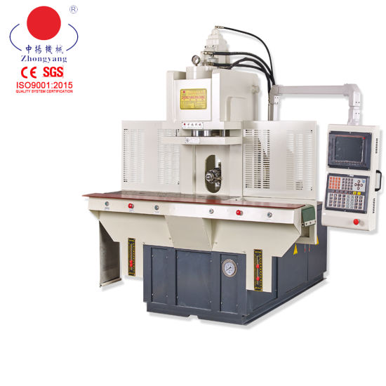 Double Sliding Platens Type C Vertical 85ton Injection Moulding Machine