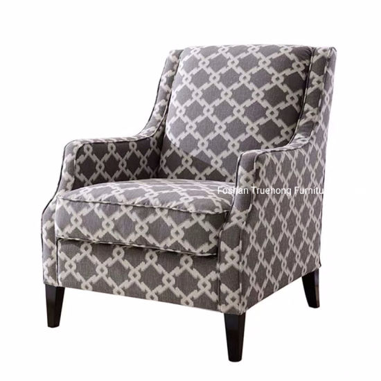 Fabric Couch Sofa Leather Lounge Sofa Classical Hotel Room Sofa Arm Chair Hotel Bedroom Sofa Furniture