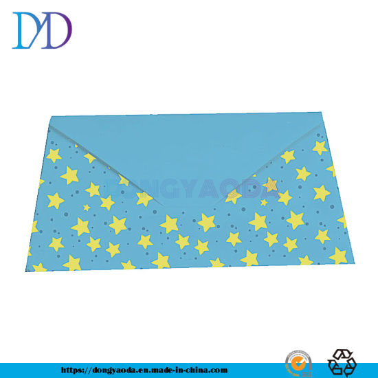 Fancy Paper Envelope with Logo Printing pictures & photos