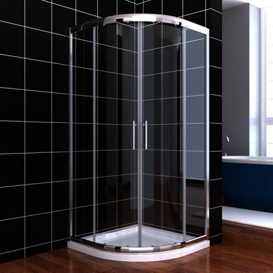 Sally Corner Entry Quadrant Shower Enclosure with Sliding Door