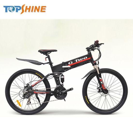 """12/""""Foldable Bluetooth Electric Mountain Bike Bicycle Ebike GPS 350W 36V US ship"""