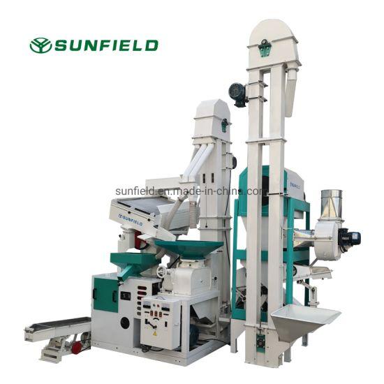 Ctnm20 High Quality Auto Rice Mill Machine Price Agro Machine