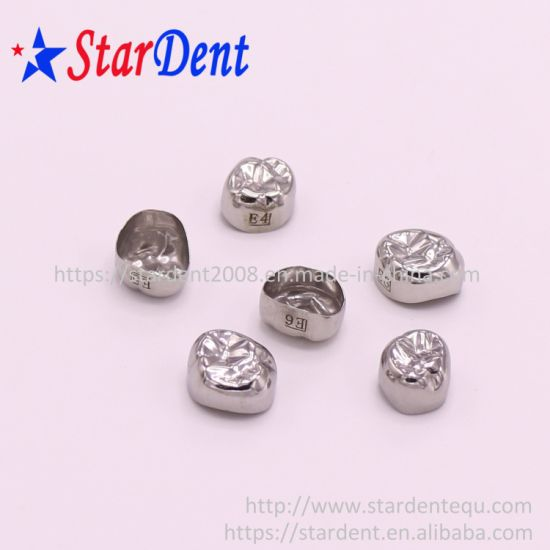 Ce/FDA Approved Pediatric Dental Stainless Steel Crowns/Dental Restoration Crown/Primary Molar Crown pictures & photos