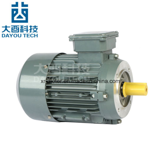 Ie2/Ye2 High Efficiency Cast Iron Three Phase AC Electrical Induction Asynchronous Air Compressor Electromotor Fan Gearbox Three Phase Reducer Electric Motors