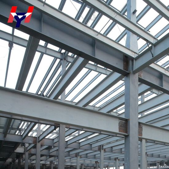 Light Steel Frame for Construction Glass Curtain Wall Steel Office Building pictures & photos
