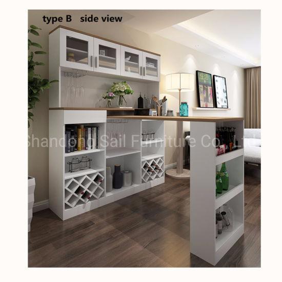Modern Design Home Kitchen Bar Counter