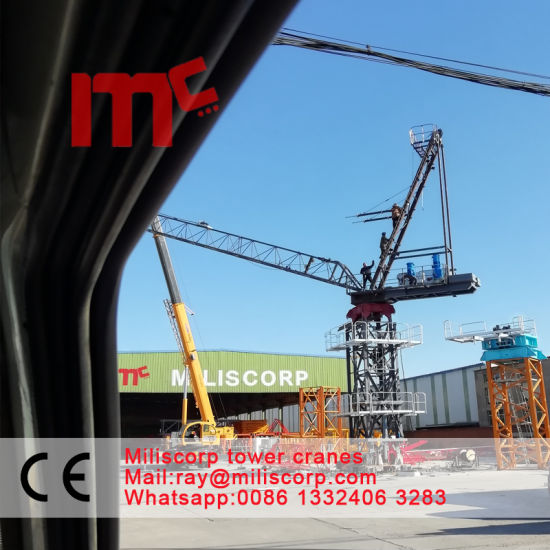 8t-Lt4515 by Mc Luffing Jib Tower Crane pictures & photos