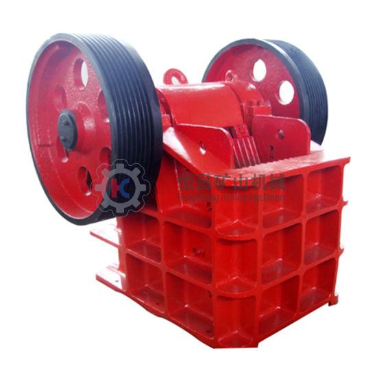 Hengheng Hengchang Factory Price PE500*750 / PE600*900 / PE900*1200 Jaw Crusher Stone Powder Crushing Machine