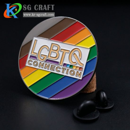 China Manufacturer Cheap OEM Wholesale Promotion Promotional Gift Military Cute Printing Flag Men Suit Custom Logo Rainbow Enamel Lapel Pin No Minimum