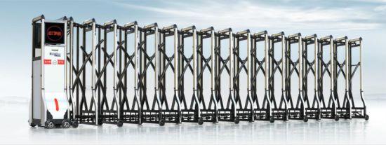 CE Certified Remote Aluminum Alloy Automatic Retractable Gate