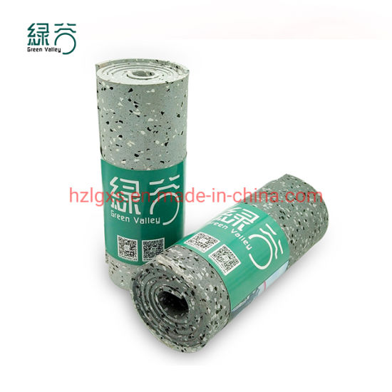 Home Gym Rubber Rolls Anti Slip Shock Resistance Fitness Rubber Sheet Flooring Roll