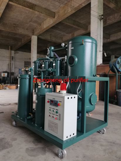 High Performance Industrial Lube Oil Filter Unit Gear Oil Purifier Machine