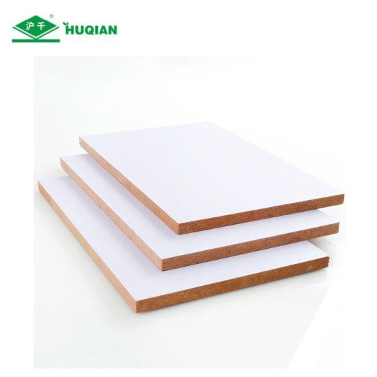 China Oem Odm White Wood Grain Matt Melamine Mdf Board China Melamine Board White Melamine Mdf