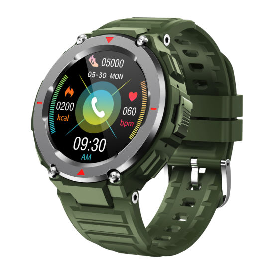 Smart Men′ S Watch That Connects to Tws Headset to Listen to Music and Make Bluetooth Calls
