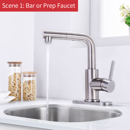 China Pull Out Kitchen Faucet For Small Sink Pull Out Bar Sink Faucet China Bathroom Faucet Bathroom Sink Faucet