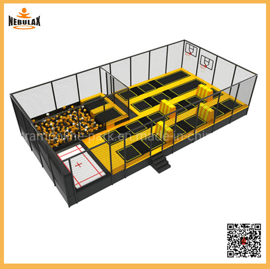 Small Commercial Trampoline Park for Kids and Adults Jump Trampoline