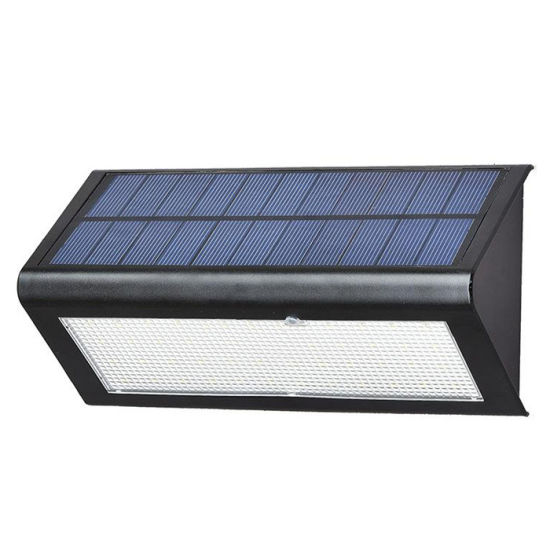 Solar Outdoor Light 48 LEDs Microwave Radar Motion Sensor Wireless Security Garden Wall Light pictures & photos