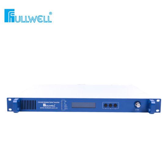 2 Ports Output External 1550nm Optical CATV Transmitter (FWT-1550ET-2X7) Work for 160km Transmission