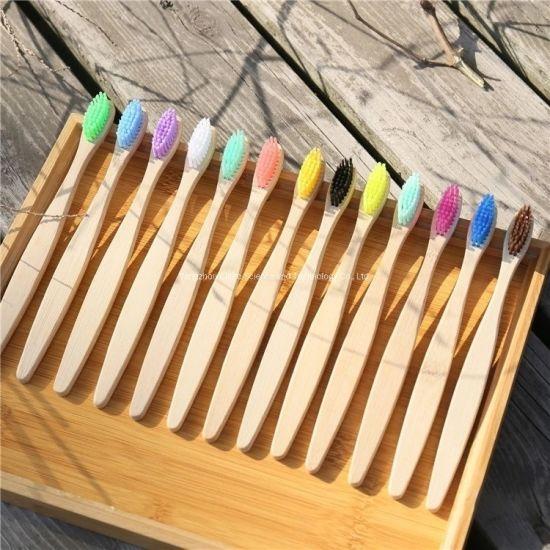 Wholesale Nature Bamboo Custom OEM Soft Household/Travel Nylon Oral Care Toothbrush