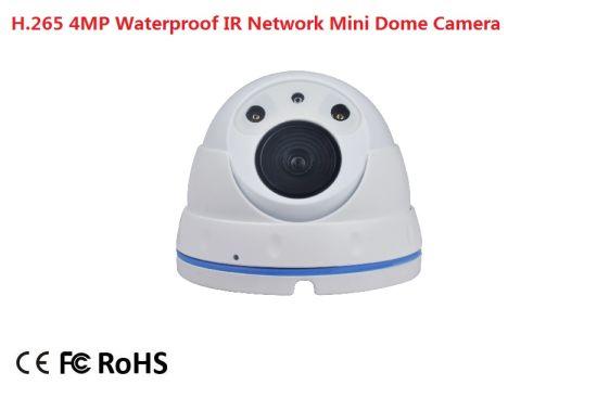 Fsan 4MP IR Infrared Waterproof Security Surveillance Metal Dome Camera