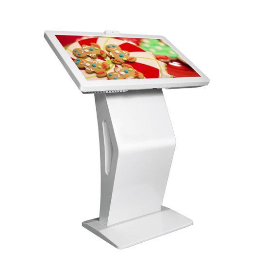 Aiyos 32 Inch Wide LCD Screen Ad Player Smart Table Touch Screen Game Table