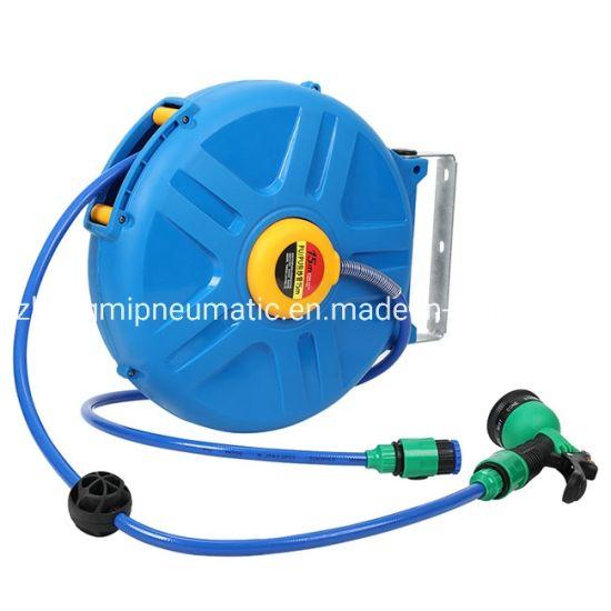 Auto Retractable Water Hose Cable Reel for Garden