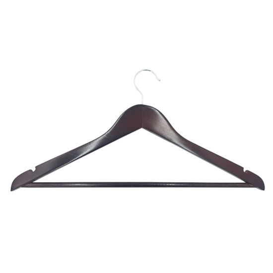 Wholesale Manufacturer High Quality Wooden Hanger Wooden Clothes Hanger for Display