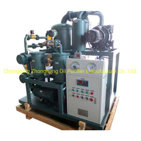 China Made Double Stage High Vacuum Transformer Oil Filtration Machine