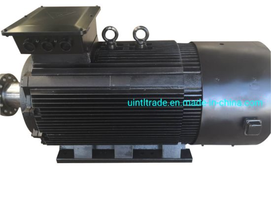 100kw Low Rpm High Efficiency Permanent Magnet Generator for Hydro Power