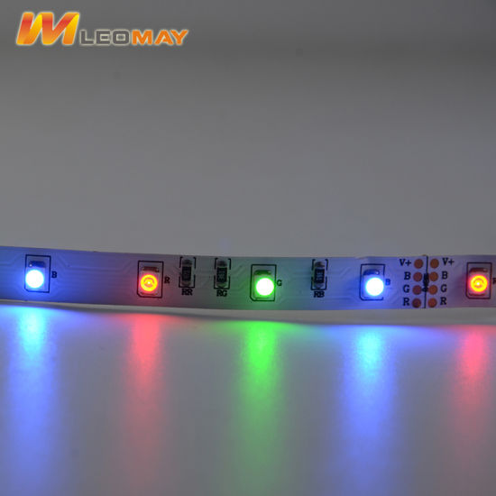 North America market 3528 60LEDs 12V RGB LED strip.