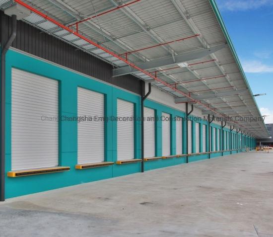 Automatic Vertical Exterior Roll up Door
