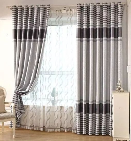 Wholesale Cheap Embossed 3 Pass Blackout Curtain Fabric