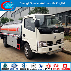 China Manufacture 4X2 Oil Truck Fuel Tank Truck for Sale pictures & photos