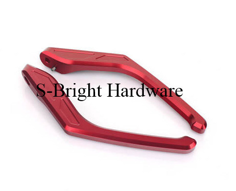 ODM Precision Anodizing CNC Machined Motorcycle Passenger Grab Handles (F-202) pictures & photos
