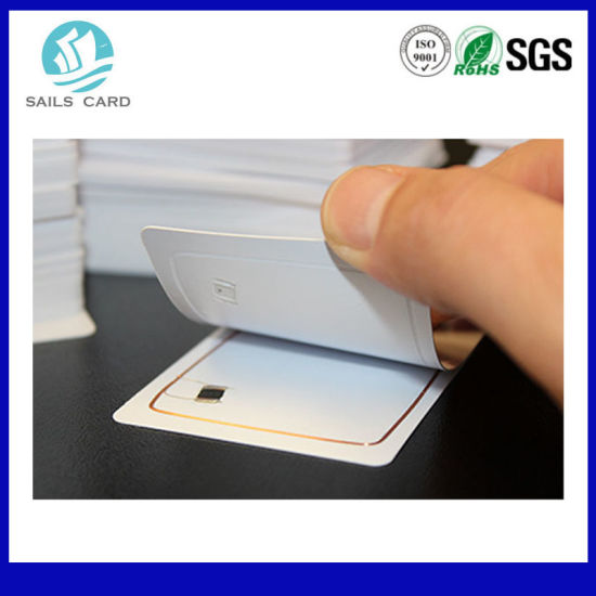 Blank White RFID Smart PVC Card pictures & photos
